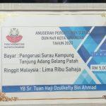 Sumbangan Dana Pembangunan Surau DUN Kota Iskandar
