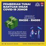 Info Berkaitan Permohonan Bantuan Ihsan Covid-19 : Untuk Makluman Penduduk Kota Iskandar Sahaja: